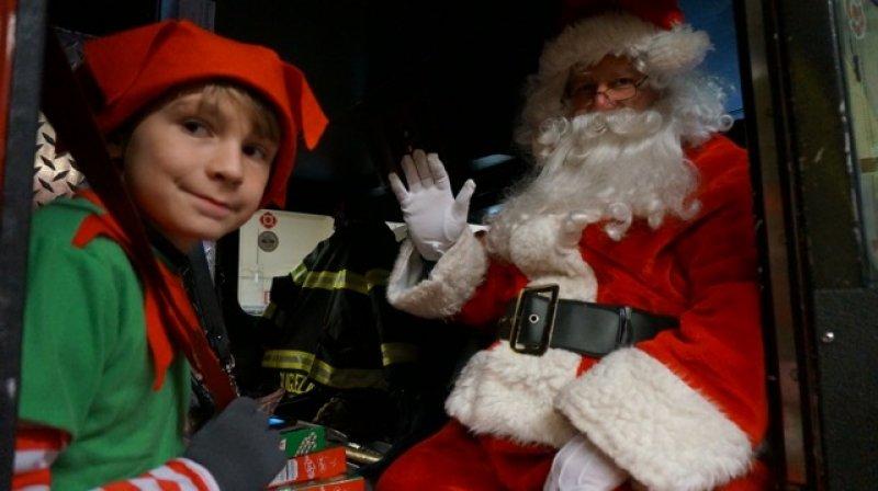 Santa Visits December 14th