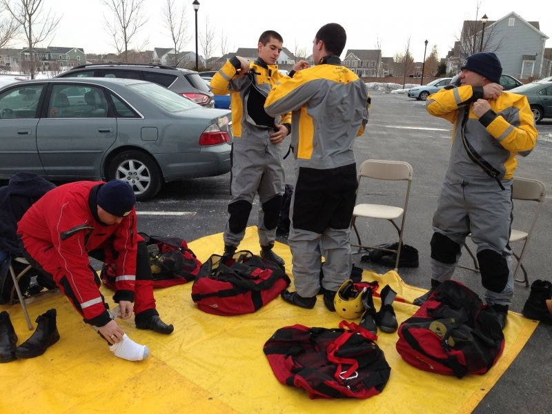 RTFD Completes Ice Water Training