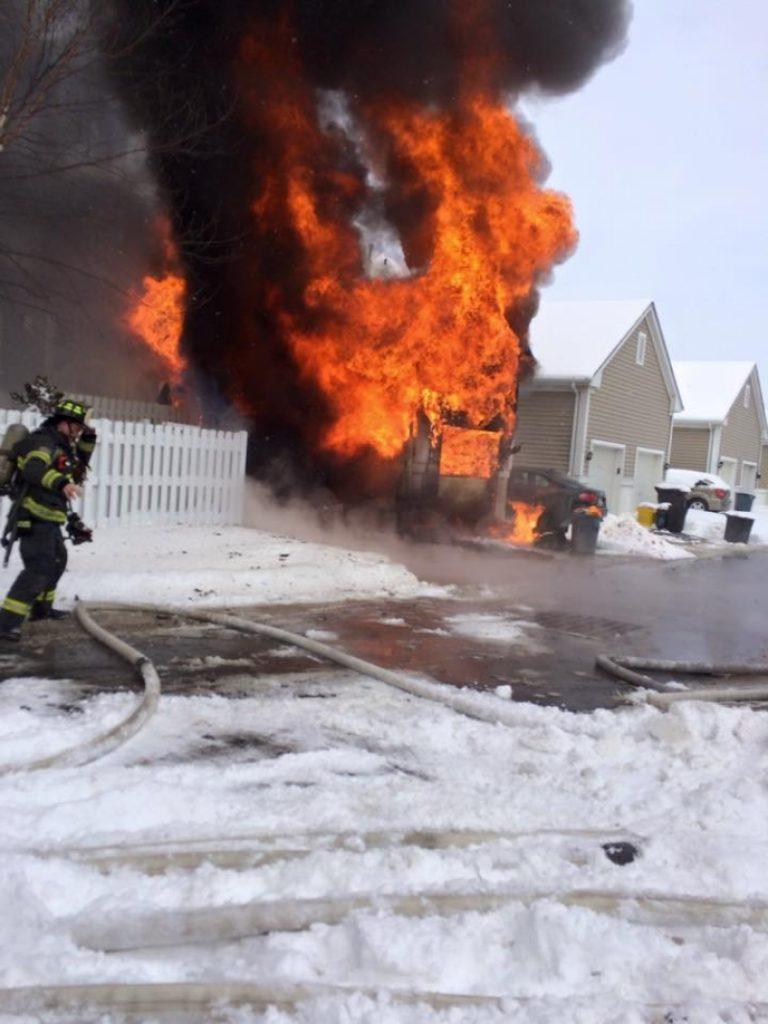 RTFD Responds to Garage Fire