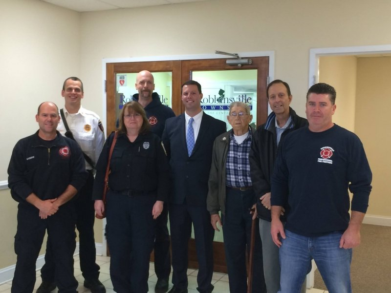 RTFD Welcomes firefighter Matthew Augustino
