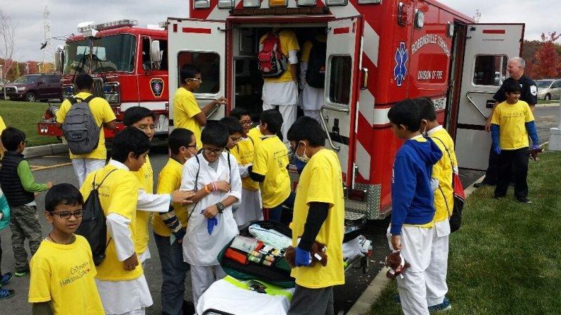 Children's Health & Safety Day at BAPS
